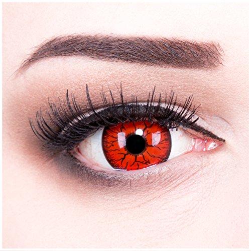 Meralens Metatron Kontaktlinsen mit Behälter ohne Stärke, 1er Pack (1 x 2 Stück)