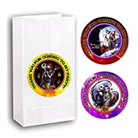 Crafting Mania LLC. 12 Nightmare Before Christmas Birthday Party Favor Bags with Stickers #2