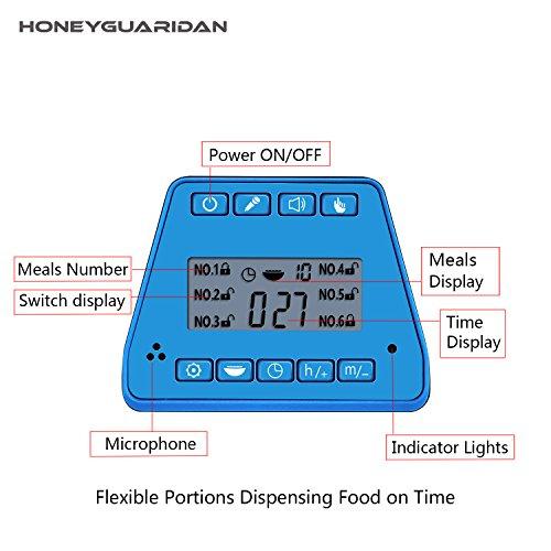 Zoom IMG-1 honeyguaridan a26 pet feeder distributore
