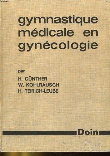 Gymnastique medicale en gynecologie