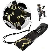 BJ-SHOP Fútbol Trainer,Balón con Cuerda Práctica de Habilidad de Fútbol Solo Universal Se Adapta a # 3# 4# 5 Balones de Fútbol para Niños Adultos