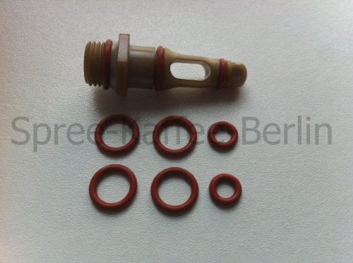SKB Dichtungs-Set Auslaufventil/Supportventil geeignet für Saeco / Spidem Kaffeevollautomaten -Set...