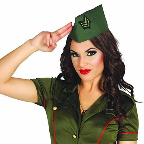Armee 2 Kostüm Der (Militärmütze Bundeswehr Schiffchen Kappe Soldatin Army Cap Damen Militär Kopfbedeckung Armee Kostüm Accessoire)