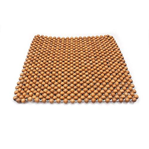 Preisvergleich Produktbild ewinever(TM) 1pcs Auto-Auto Natural Wood Korn Massagesessel Sitzkissen Pad