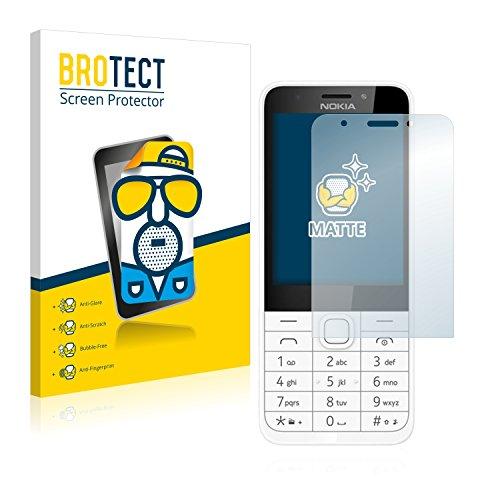 BROTECT Entspiegelungs-Schutzfolie kompatibel mit Nokia 230 (2 Stück) - Anti-Reflex, Matt