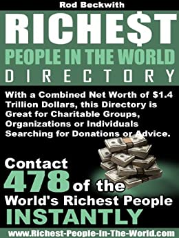 Richest People In The World Directory (English Edition) di [Beckwith, Rod ]