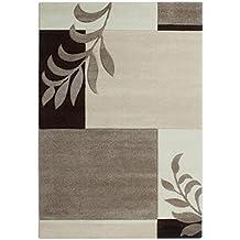 havatex Modern Rug Miami Branches - Color Selectable, Color Cream, Size:120 x 170 cm