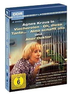 Agnes Kraus - DDR TV-Archiv ( 4 DVDs - Viechereien, Oh diese Tante... , Alma schafft alle, Aber Doktor )