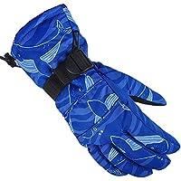 ANGTUO guantes de esquí impermeable resistente al viento suministros deportivos profesional de invierno frío anti-frío caliente hombres y mujeres universal