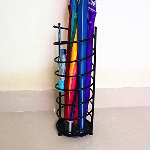 HGNsj Stockage de Parapluie Porte-parapluies Style de Fer Européen Accueil Crémaillère créative Parapluie Barrel Storage Barrel Umbrella Lobby d'hôtel Parapluie médias (Taille : 25cm*61cm)