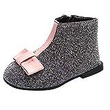Sannysis Winter Warm Schuhe Kinder Wildlederschuhe Baby Kinder M?dchen Pailletten Patchwork Warme Stiefel Kinder Baby Winter Schuhe Prinzessin Schuhe