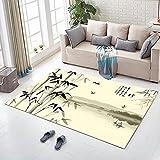 Unbekannt Chinesischen Stil Teppich Wohnzimmer Couchtisch Schlafzimmer Nacht Küche Badezimmer Anti-Rutsch-Matte (Farbe : F, größe : 40x60cm)
