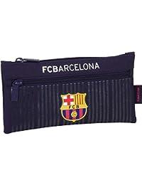 Safta FC Barcelona Estuches, 22 cm, Multicolor
