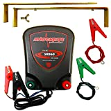 ShockRite Electric Fence Energiser SRB60 0.6 Joule 12 Volt, Earth Stake & Cables 3 Year Warranty