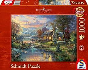 Schmidt Spiele - 59467 - Clásico Puzzle - En Paraíso Natural - 1000 Piezas
