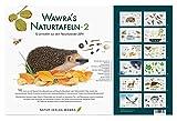 Wawra´s Naturtafeln Set 2 mit 12 neuen Lerntafeln im A3-Format zum Entdecken, Beobachten, Bestimmen - 41,6 x 27 cm