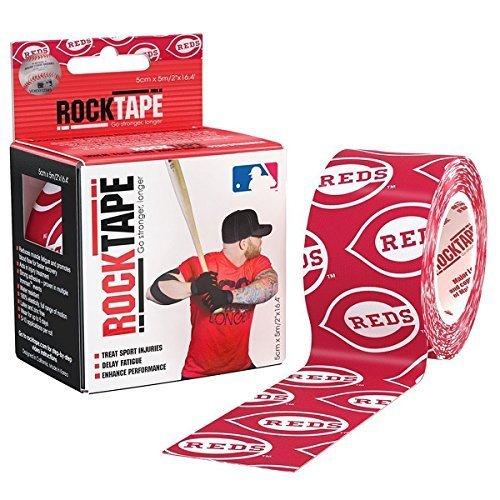 rocktape-major-league-baseball-kinesiology-tape-for-athletes-2-inch-x-164-feet-cincinnati-reds-by-ro