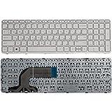 SellZone Laptop Keyboard For HP Pavilion 15 15N 15E 15-e000 15-e100 15-n000 15-n100 15-n200 15-n300 Series White