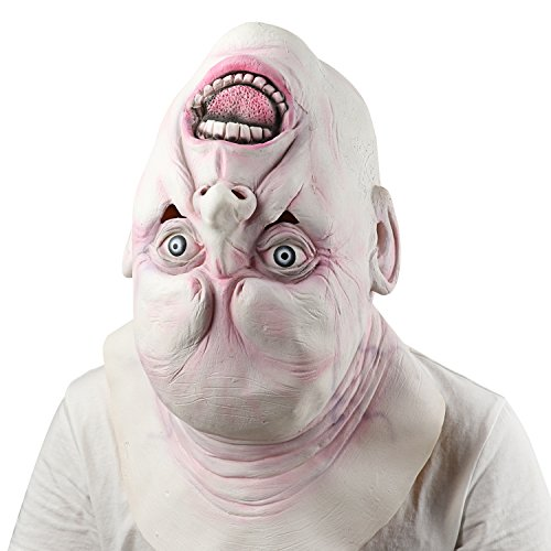 Adultos Máscara de Látex, Supmaker Payaso Halloween Costume Horrible Máscara Emoción Decorativa