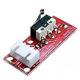 Bitbot3d® End Stop para Impresora 3D o CNC. Para Prusa i3 Hephestos, P3Steel, Anet, Ramps 1.4. Final de carrera maquinas DIY RepRap