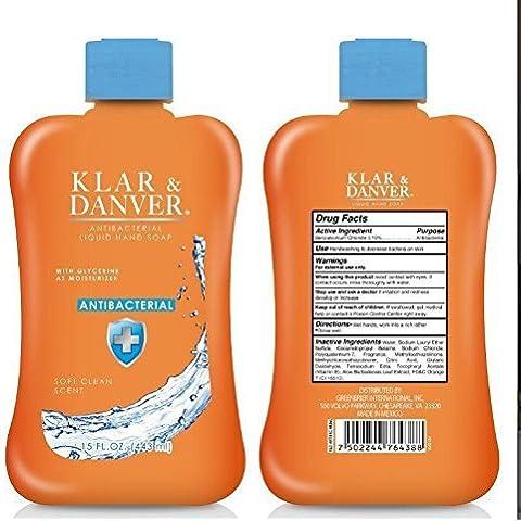 Klar & Danver Soft Clean Scent Antibacterial Liquid Hand Soap