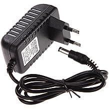 Amazingdeal365 AC 100-240V Convertidor Adaptador DC 5,5 x 2,5mm 12V 1A 1000 mA Cargador EU Plug Switching Power Supply