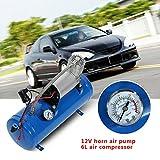 Luft-Kompressor, Reifenfüller, Luftpumpe, 12V, 6 Liter, 150PSI, für Auto, LKW