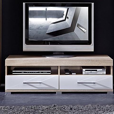 Stella Trading DSHW561030 TV-Element Schrank Unterteil Kommode fernseherstand, Holz, braun,