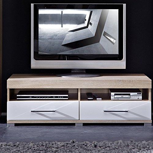 Stella Trading DSHW561030 TV-Element Schrank Unterteil Kommode fernseherstand, Holz, braun, 48.0 x 120.0 x 38.0 cm