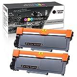 2er GPC Image TN2320 TN2310 Toner Kompatibel für Brother TN 2320 TN 2310 für Brother DCP L2500D L2520DW L2560DW / HL L2300D L2340DW L2360DN L2365DW / MFC L2700DW L2720DW Series, 2.600 Seiten pro Toner