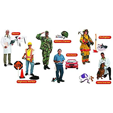 Trend Enterprises Community Helpers Bulletin Board Set (T-8143) by Trend Enterprises