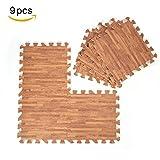 Specifiche tecniche:Materiale: schiuma EVAColore: profondo Grana del legno, Luce Grana del legno, Bianco Wood Grain (opzionale)Dimensione: ca.. 30 x 30cm / 11.8 x 11.8 x 0.4inchSpessore: 1 cm / 0.4inchQuantità: 9pz Peso del pacchetto: Circa 4...
