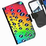 Hairyworm- Flüssigkeit Seiten Leder-Schützhülle für das Handy Motorola Moto G (1ST GEN) (X1032)