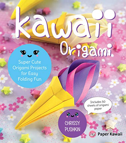 Kawaii Origami:Super Cute Origami Projects for Easy Folding Fun (English Edition)