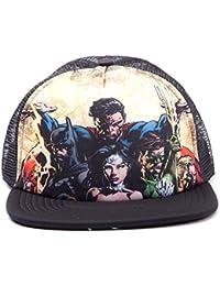 Official Superman Justic League Snapback Trucker Baseball Cap Hat