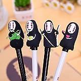 Chuangli 8PCS/set Spirited away no Face creative cute gel Pen carino penna gel cancelleria per ufficio regali
