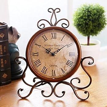 Nikky home orologio da tavolo vintage al quarzo regalo for Regalo casa mobile