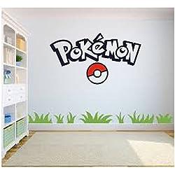 Pokemon Go Da Parete, Arte, Pokemon Da Parete, Arte, Adesivo Da Parete Decalcomania, Cameretta Bimbi, Camera Da Letto Da Parete, Arte