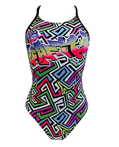 TURBO Schwimmanzug GREKA Pro Racer Sport-Badeanzug bunt (dt. Gr. 36 / Turbo L) (Swim Turbo Racer)