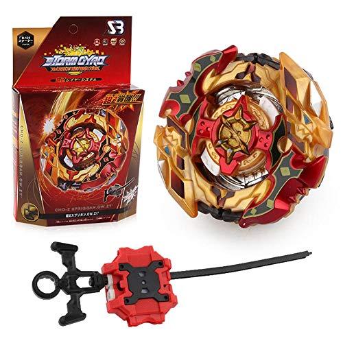 Preisvergleich Produktbild Christ For Givek Beyblade Burst Wrestling Masters Fusion Kreiselkreisel Kreisel und Trägerrakete Kunststoff-Spielzeug und Geschenke interessant für Kinder( B-128)