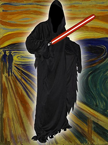 Robe Mit Sith Kostüme Kapuze (Sith Lord Robe)