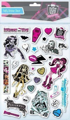 Kinder Monster High Weich Gepolstert Aufkleber Dekoration Geburtstagsparty Taschen Geschenk (Monster High Party-taschen)