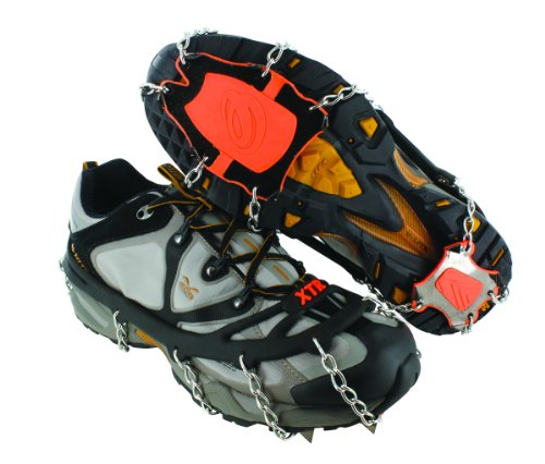 Yaktrax Extreme, Catene da neve per scarpe Orange