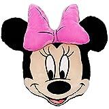 Unbekannt Disney Minnie Mouse  - 3-D Effekt _ Plüsch Kissen / Schmusekissen / Sitzkissen - Kuschelkissen - 43 cm * 40 cm - groß - sehr weich - für Mädchen - Reisekis..
