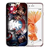 blitz-versand-germany Blitz® AVENGERS HELDEN Schutz Hülle Transparent TPU Cartoon SAMSUNG Galaxy All Super heros M15 A5 2016