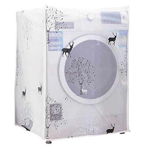 Freahap Housse Machine à Laver Etanche Motif Joli Protection Décoratif #5