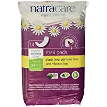 Natracare Regular Maxi Pads 14s (1 Pack)