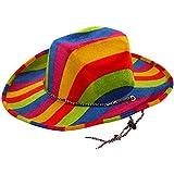 Erwachsenen Kostüm Party Zubehör Head Wear Herren Cowboy-Hut, Filz, mehrfarbig