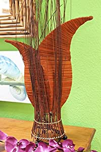 Naturesco lampes de chevet forme originale avec branches marron 60 cm