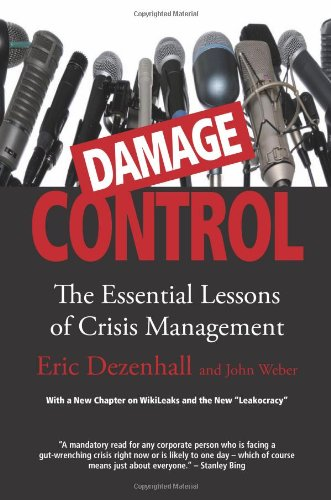 Damage Control Revised Updated The Essential Lessons Of Crisis Management